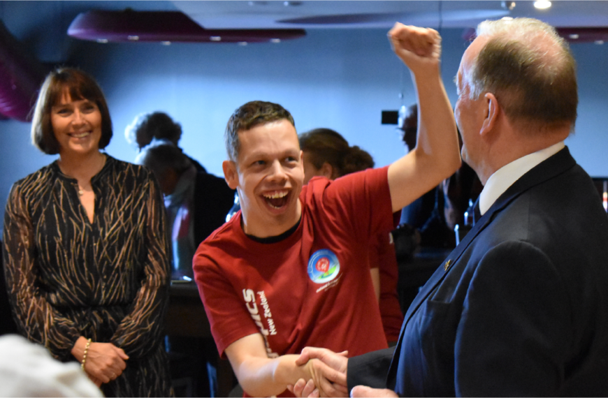 Freemasons New Zealand put their weight behind Special Olympics athletes