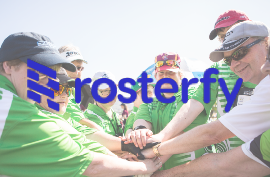 Rosterfy announces partnership with Special Olympics New Zealand